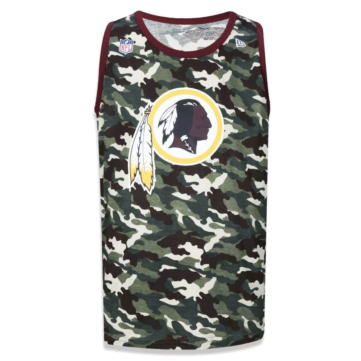 Regata New Era NFL Redskins Camo Team
