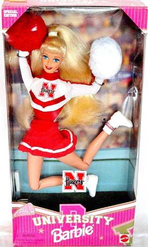 Boneca Barbie Loira Líder De Torcida Futebol Americano 1996