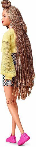 Boneca Barbie Bmr1959 Collector Cabelo Trançado Articulada