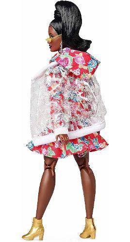 Boneca Barbie Bmr1959 Collector Negra Jaqueta Articulada