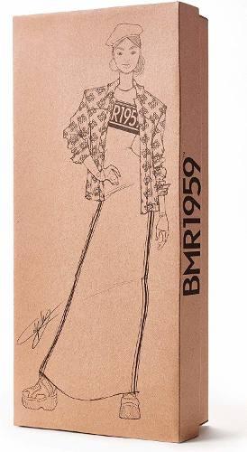 Boneca Barbie BMR 1959 Collector Oriental Jaqueta Articulada