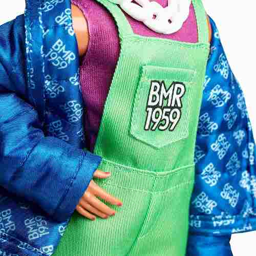 Boneco Ken Barbie Bmr1959 Collector Articulado Pablo Top