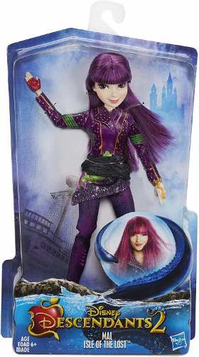 Boneca Disney Descendants 2 Mal Isle of the Lost Roxa Linda