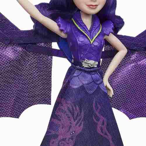 Boneca Disney Descendants Rainha Mal Transforma em Dragão