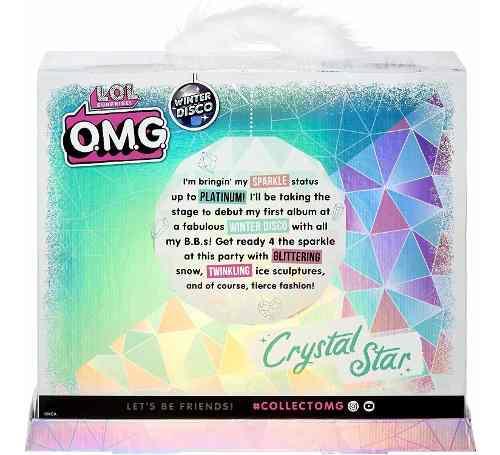 Lol Surprise Omg Crystal Star Edição De Colecionador Top