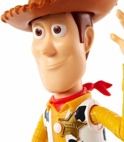 Boneco Disney Pixar Toy Story 4 Woody 23cm Top