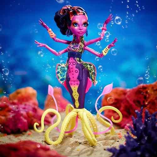 Monster High Greatscarrier Reef Down Underghouls Kala Mer'ri