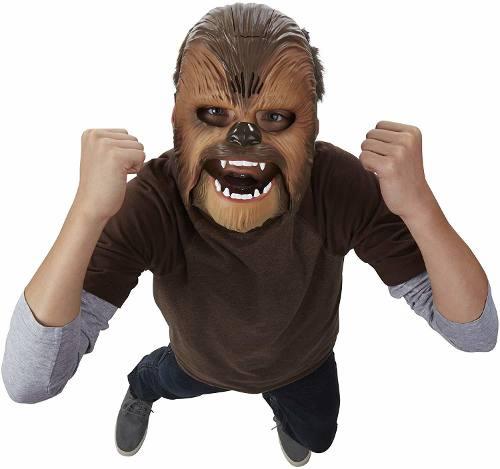 Máscara Chewbacca Star Wars O Despertar Da Força Emite Som