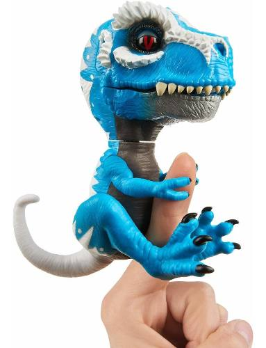 Agarradinho Fingerlings Dragão Ironjaw Azul T-rex Eua Top