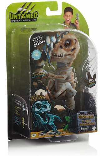 Agarradinho Fingerlings T-rex Doom Ash Interativo Eua Top
