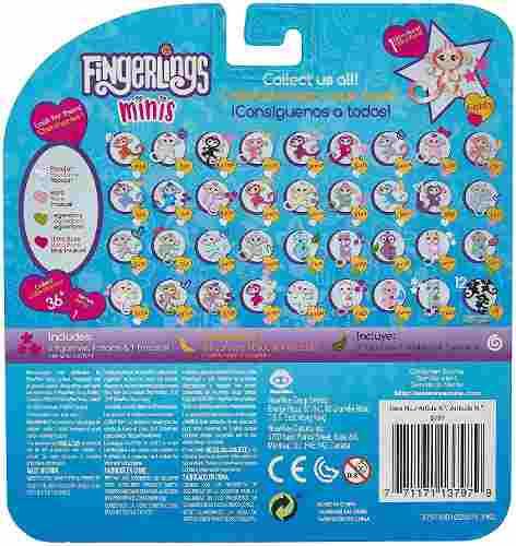 Pulseira Agarradinho Fingerlings Mini 3 Macaquinhos Top