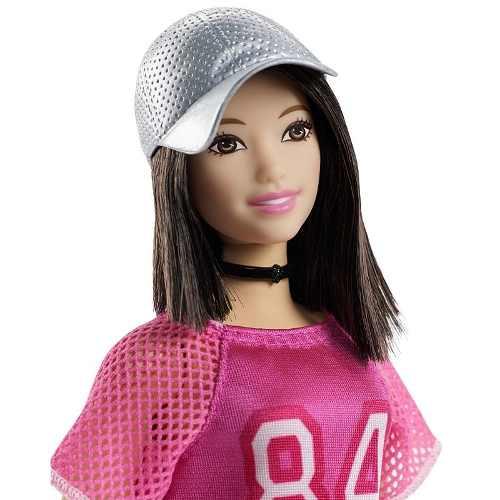 Boneca Barbie Fashionista Curvy 101 Vestido Rosa2 Roupas Top
