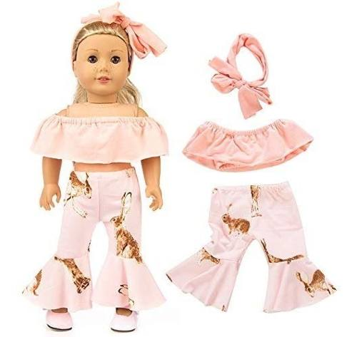 Kit 7 Roupas Para Boneca American Girl Reborn Our Generation