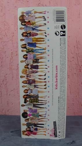 Boneca Barbie Fashionista 71 Loira Cacheado E Óculos Top