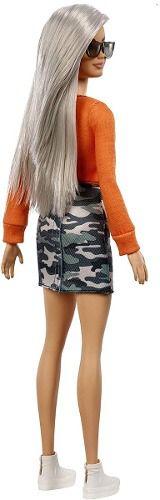 Boneca Barbie Fashionista 107 Loira Platinada Sidecut 2019