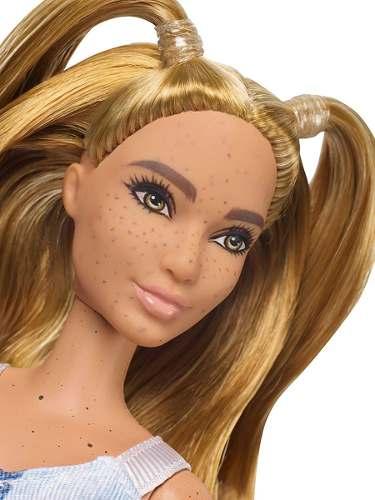 Boneca Barbie Fashionista 108 Sardas No Corpo Top Nova 2019