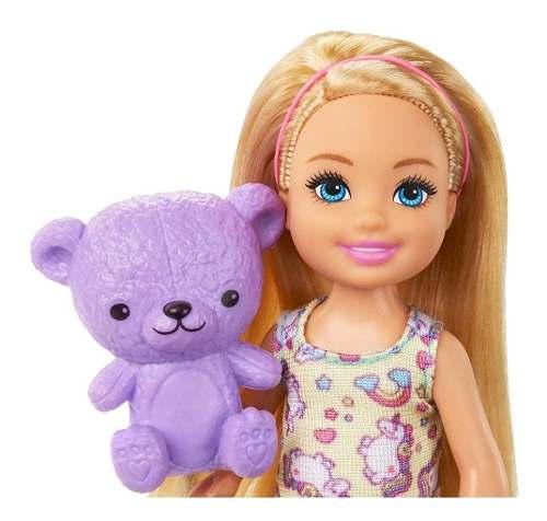 Boneca Barbie Clube Chelsea Hora De Dormir Com Cama Top 2019