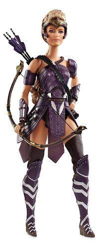 Boneca Barbie Mulher Maravilha Antíope Com Arco Flechas Top