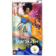 Boneca Barbie Star Skater Jogos Olímpicos 2002 Negra Rara