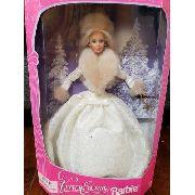 Boneca Barbie Noite Especial De Inverno Luxuosa Rara 1998