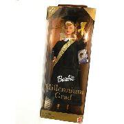 Boneca Barbie Loira Dia de Formatura Vestido Preto Rara 1999