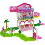 Boneca Barbie On-the-go Sela Do Pônei Que Anda Sozinho Top