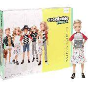 Boneco Creatable World Sem Gênero Loiro Ondulado Mattel Top