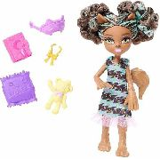 Boneca Monster High Monster Family Pawla Wolf Loba Top