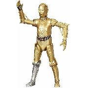 Boneco Star Wars The Black Series C-3po Perna Prata