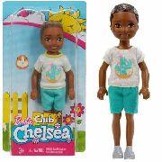 Boneco Barbie Clube Chelsea Criança Menino Negro Kelly Top