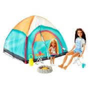 Boneca Barbie Skipper E Chelsea Com Barraca Camping Top 2019
