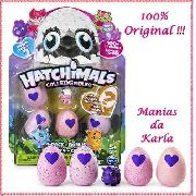 Hatchimals Colleggtibles 4 Ovos + Bônus Surpresas Top