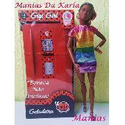 Casa Da Barbie Boneca Geladeira Vermelha Acessórios Top 2019