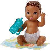 Boneco Barbie Skipper Babysitters Bebê Moreno Chelsea Raro