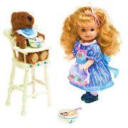 Boneca Barbie Collector Kelly Cachinhos Dourados E Os3 Ursos