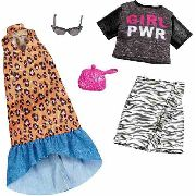 Roupa Para Barbie Fashion Girl Power Óculos Mattel Original