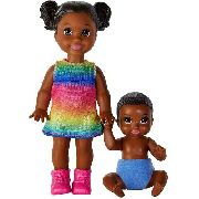 Barbie Skipper Babysister Criança E Bebê Negros Raros Top
