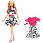 Boneca Barbie Loira Com Roupa Acessório Linda Rara Top Promo