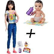 Boneca Barbie Skipper Babysitters E Bebê Chelsea Japonesa