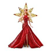 Boneca Barbie Collector 2017 Holiday Loira Mattel Linda