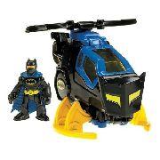 Boneco Batman E Helicóptero Batcopter Lançamento