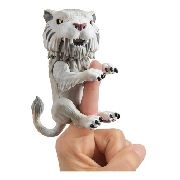 Agarradinho Fingerlings Tigre Dente De Sabre Branco