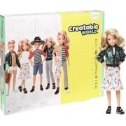 Boneco Mattel Creatable World Sem Gênero Cabelo Loiro Onda