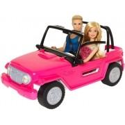 Carro Jeep Praia Barbie Com Boneca e Ken Mattel Importado