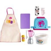 Pacote Acessórios Barbie Cozinhar E Assar Tema Café da Manhã