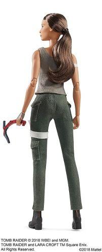 Boneca Barbie Collector Tomb Raider Lara Croft 2018 Top Eua
