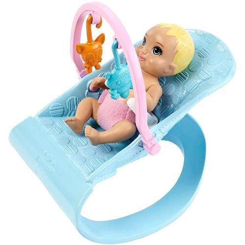 Berçário Boneca Barbie Skipper Babysitters Babá 2 Bebês 2019