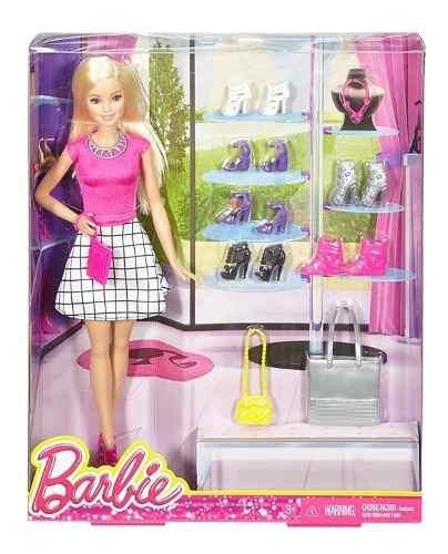 Boneca Barbie Dreamhouse Loira Com Roupas E Acessórios Top