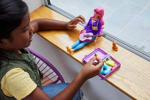 Boneca Barbie Dreamhouse Adventures Daisy Mala De Viagem Top