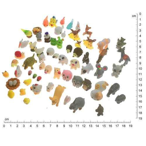 65 Miniaturas Animais P/ Decoração Casa De Boneca Barbie Top